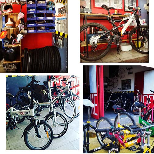 New Line Bike Shop Ajijic